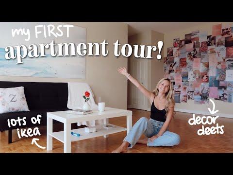 MY APARTMENT TOUR - FIRST APARTMENT EVER!