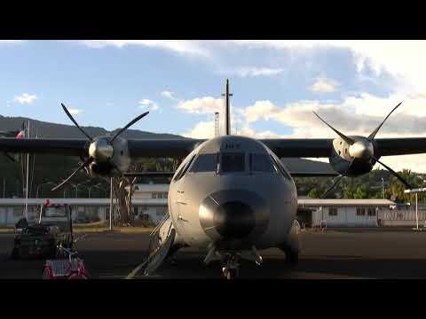 Le détachement air 190 de Tahiti