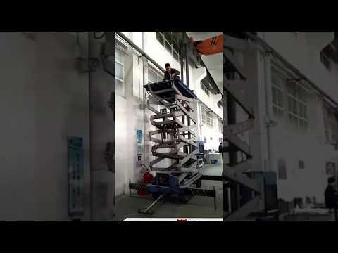 Lifting Platform for Overhead Crane Checking and Maintenance