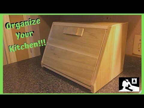 Make A Poplar Bread Box