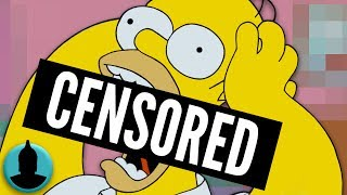 8 simpsons episodes censored from tv (tooned up s4 e6)