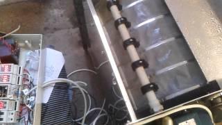 Самодельный барабанный фильтр(Ходовые испытания только что изготовленного барабанного фильтра для пруда. Механический фильтр для рыб..., 2014-05-31T15:47:20.000Z)
