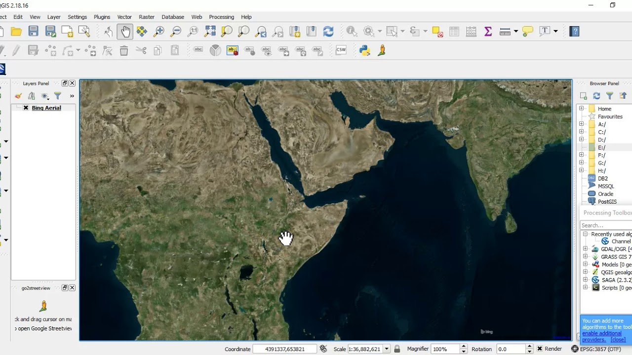 Bing Karte.Add Bing Maps Google Maps And Open Street Layers In Qgis