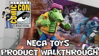 NECA Toys Product Walkthrough at San Diego Comic Con 2018