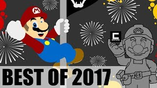 Top 10 Super Mario Maker Designs of 2017.