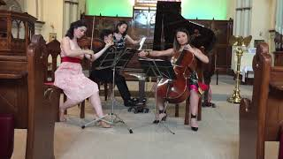 Franz Joseph Haydn - Piano Trio in A Major, Hob. XV:35, 1st movt ハイドン:ピアノ三重奏イ長調Hob.XV35第一楽章