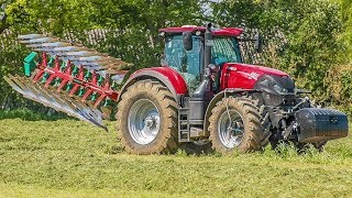 CASE IH Optum | Fendt 724 Traktor | Kverneland 2500 Pflug | Pflügen | Produktvideo | AgrartechnikHD