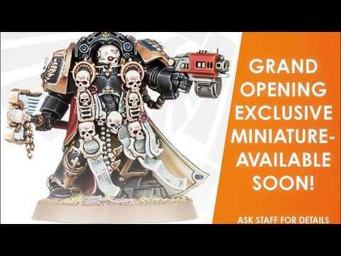 Metalhead Minis: Warhammer Colleyville Grand Re-Opening!