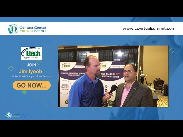 Join Jim Iyoob at Contact Center Virtual Summit | Part 1