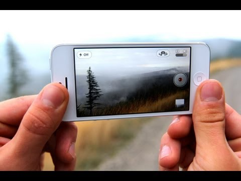 New iPhone 5 Video Camera Quality Test - 1080P HD Northwest Sunrise, Macro Bokeh & Low Light!
