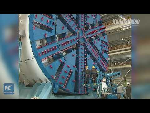 Chinese firm manufactures ultra-large tunneling machine for Bangladesh