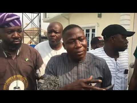 Chief Sunday lgboho Reacts As Suspected Fulani Herdsmen Burnt Down His House Overnight.