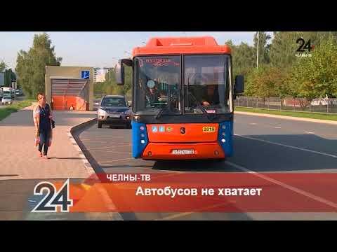 Автобусов не хватает