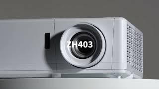 가정용 회의용 고화질 레이저 빔프로젝터 옵토마 ZH40…