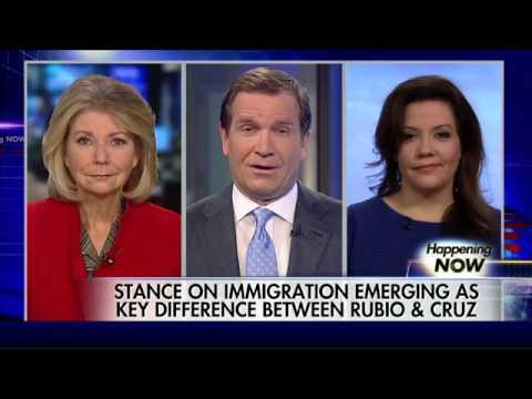 Showdown looming between Marco Rubio and Ted Cruz?
