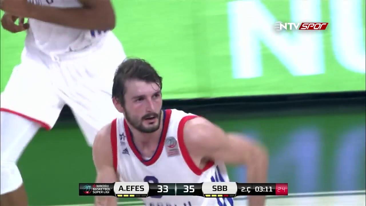 Basketbol Süper Ligi 10. Hafta: Anadolu Efes - Sakarya BŞB.