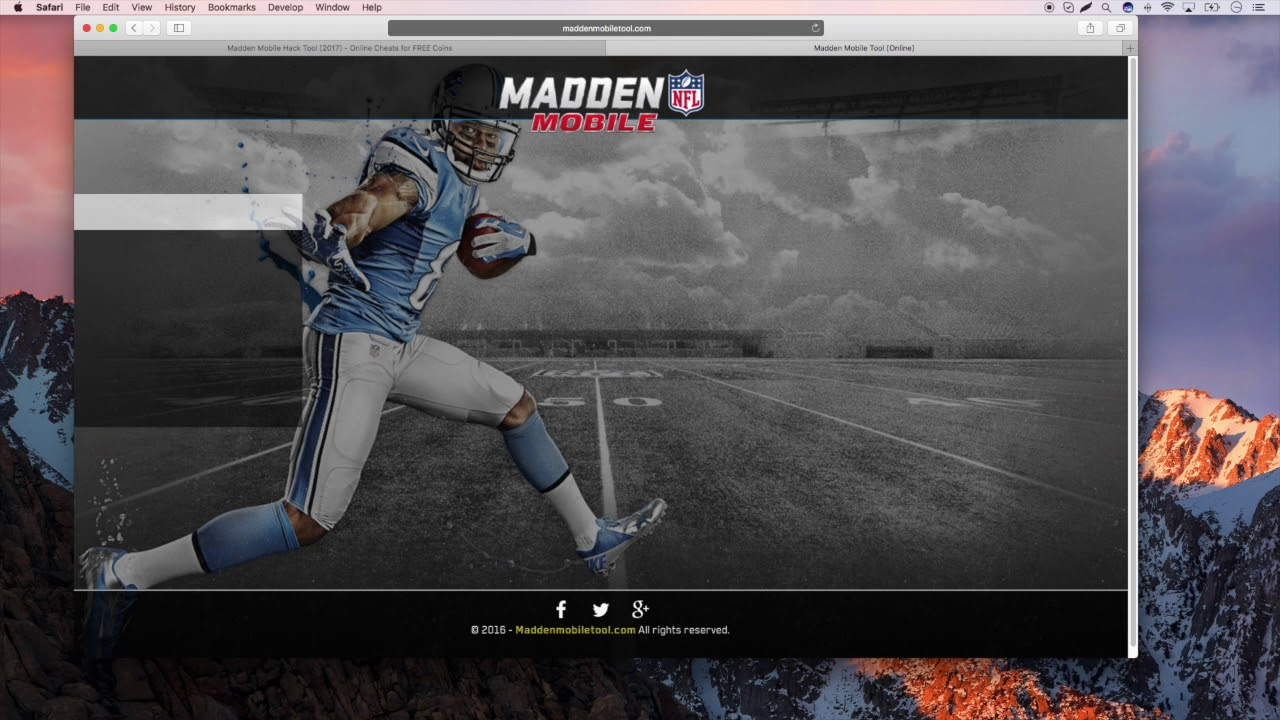 madden mobile hack and cheats for coins no survey 2017 youtube