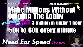 *NEW*Need For Speed Heat Make 100 thousand  in 1 Race Money guide Make 50k Or More Every Race