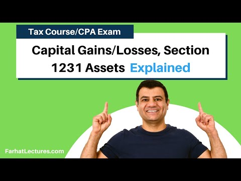 Capital Gains and Losses, Section 1231 Assets | Corporate Income Tax | CPA REG | Ch 14 P 1