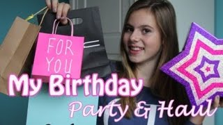 BIRTHDAY PARTY & HAUL - NINA HOUSTON