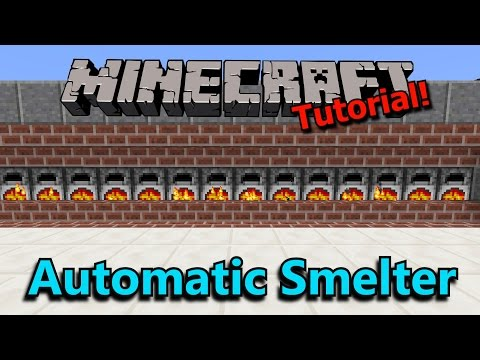 [Tutorial] Automatic Super Smelter V2 (2 Wide!)
