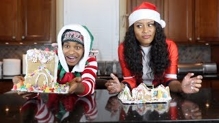 Baixar COUPLES GINGERBREAD HOUSE CHALLENGE!!!