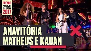 Baixar True Colors + Fica + Te Assumi Para O Brasil | Anavitória + Matheus e Kauan | Prêmio Multishow 2017