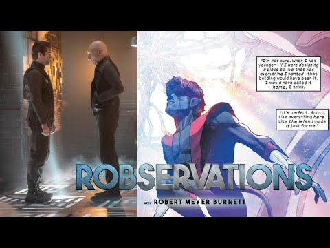 PICARD AND THE X-MEN...A CONTRAST OF WRITING AND IMAGINATION. ROBSERVATIONS Season Two #348