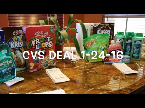 CVS Couponing 1-24-16 Cheap Cereal