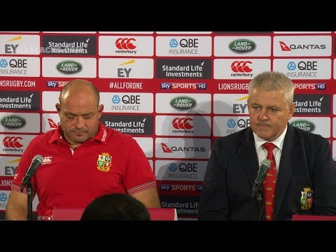 REACTION: British & Irish Lions press conference