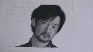ド素人の一般人です 4hから8bの鉛筆で描きました.