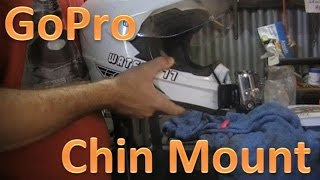 How to mount your GoPro on the chin.