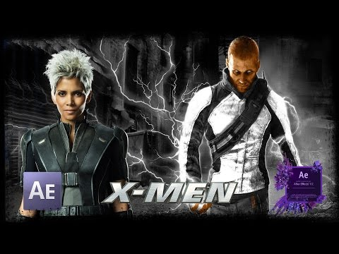 Storm - X-Men | After Effects Tutorial Infamous Electric Pow