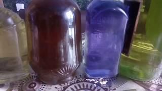 Китайский чай в самогоне... Синька, незамерзайка... Прикольный цвет самогона