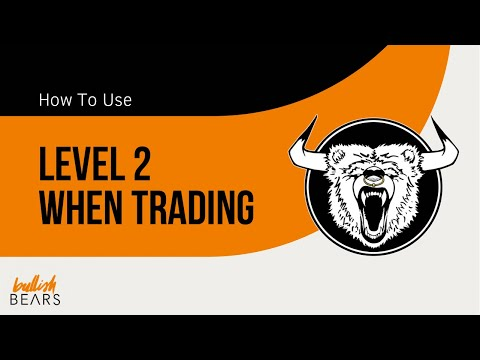 Level 2 - How to Use Level 2 With Time and Sales Data