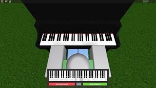 Undertale - Reunited [Roblox Piano Sheet]