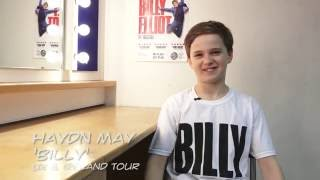 Quick-Fire Questions with Haydn May | Billy Elliot the Musical