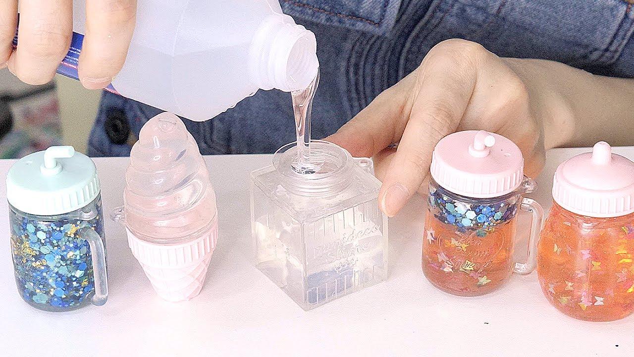 透明な水系スクイーズをリメイクしてオリジナルにしていくよ