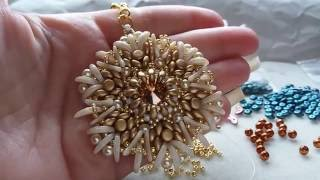 DIY Tutorial Ciondolo MaSay Crescent MiniDuo SuperDuo
