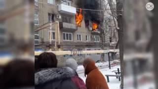 Без комментариев. Взрыв газа на Московском шоссе