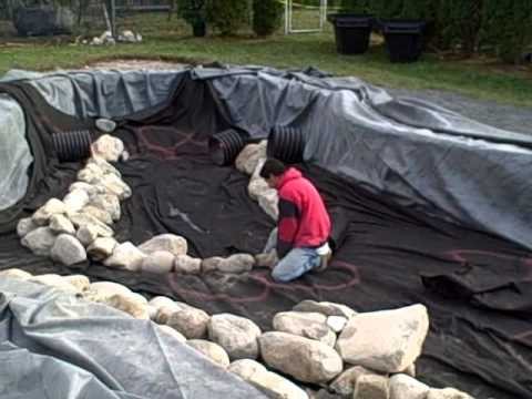 Swimming pool to pond conversion how to part 1 of 2 in for Pool to koi pond conversion