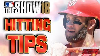 MLB The Show 18 Hitting Tips - MASTER Hitting in MLB The Show!