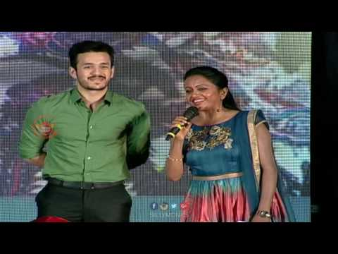 Akhil Funny replies to Suma @ SSS Audio Launch - Naga Chaitanya, Manjima Mohan || Gautham Menon