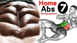 7 ABS EXERCISES Home Workout
