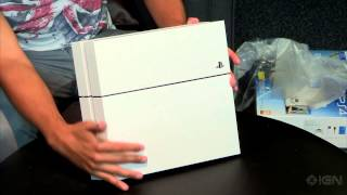 Unboxing Sony's Gorgeous White PlayStation 4 Bundle