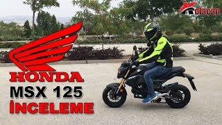 Honda MSX 125 Motosiklet Detaylı İnceleme