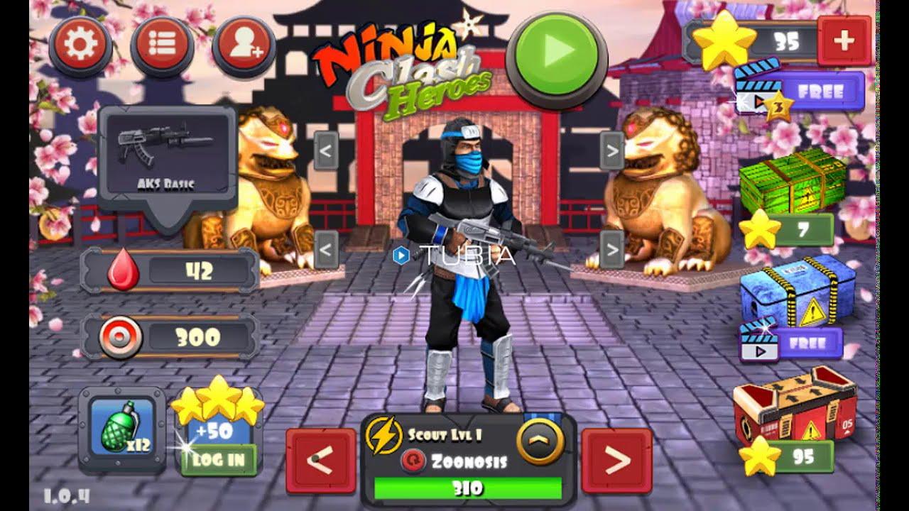 Ninja Clash Heroes - Gameplay