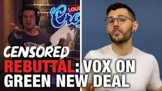 REBUTTAL: Vox Pushes Green New Deal! | Louder With Crowder (Censored Version)