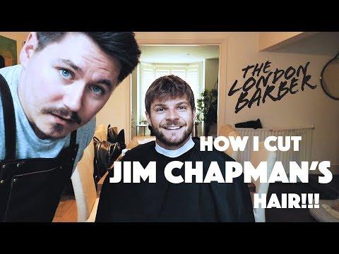 HOW I CUT JIM CHAPMAN'S HAIR!!!