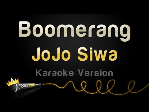 JoJo Siwa - Boomerang (Karaoke Version)